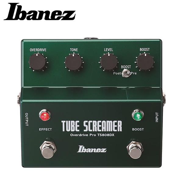 1大特典付 Ibanez(アイバニーズ) / TS808DX - TubeScreamer + ブースター - 《ギターエフェクター》