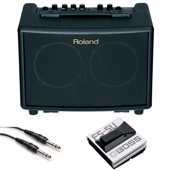 【フットスイッチFS-5Uセット】 Roland(ローランド) / AC-33 - ギターアンプ アコースティック - 「接続ケーブル付属!」