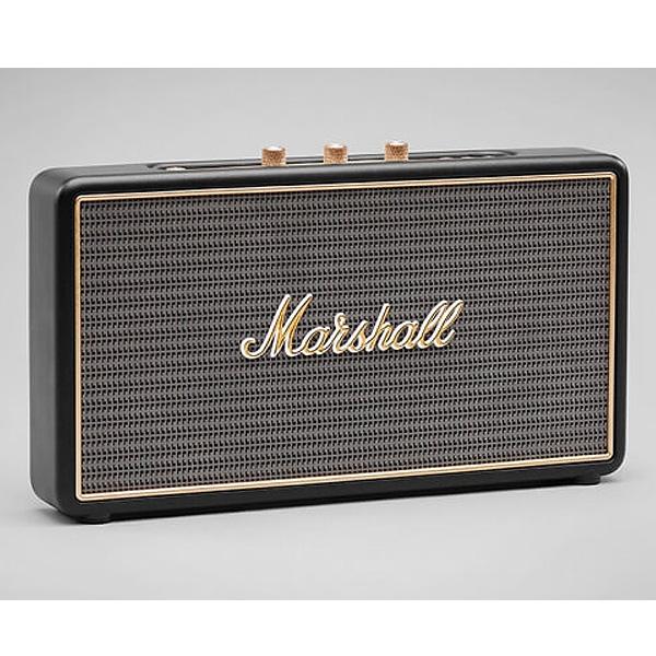 Marshall / STOCKWELL (BLACK) Bluetooth対応 ポータブル ワイヤレススピーカー 直輸入品 マーシャル (フリップカバー別売り)