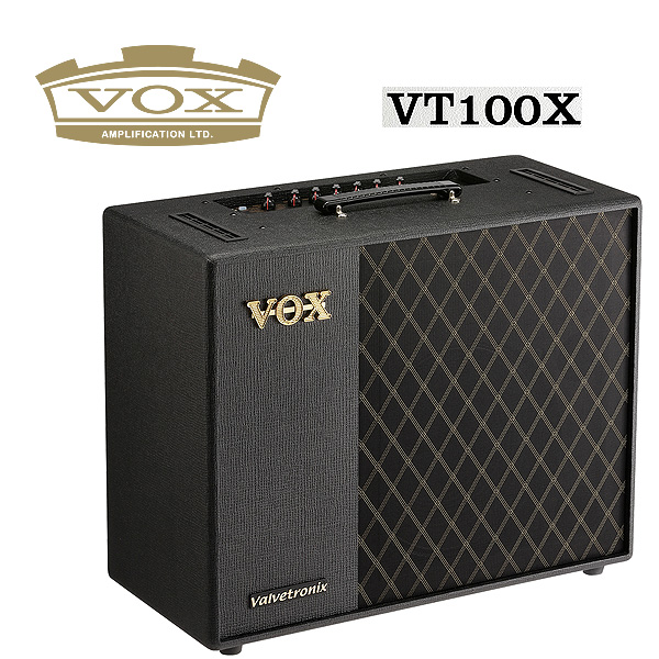 従来のモデリング アンプの域をはるかに超えた革命的モデリング アンプ 訳あり商品 VOX ギターアンプ VT100X 送料込 ヴォックス -