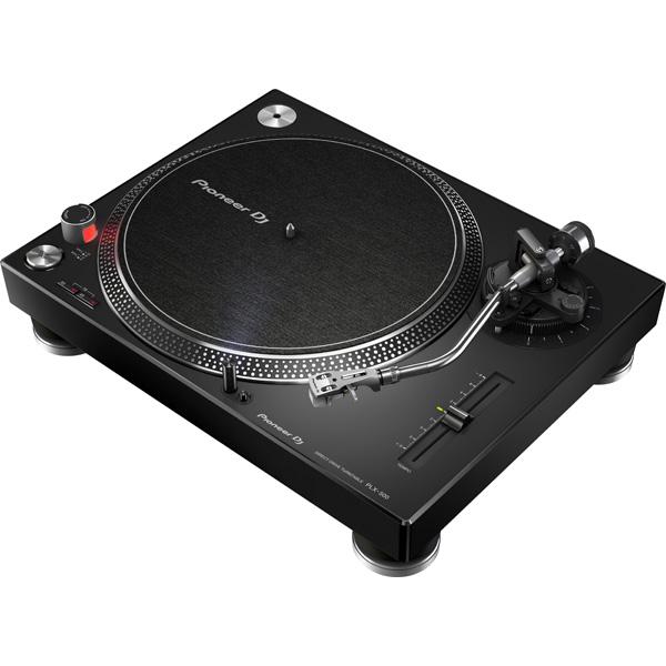 PLX-1000の音質設計思想を踏襲 高品質 手軽に高品位なアナログレコードサウンド楽しめ DJプレイも可能 1大特典付 Pioneer 次回納期未定 パイオニア ダイレクトターンテーブル PLX-500-K DJ 送料無料限定セール中