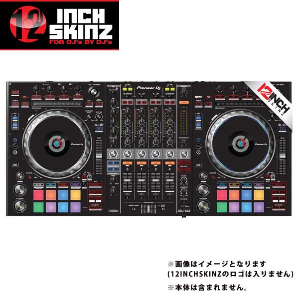 12inch SKINZ / Pioneer DDJ-SZ2 SKINZ (BLACK) 【DDJ-SZ2用スキン】