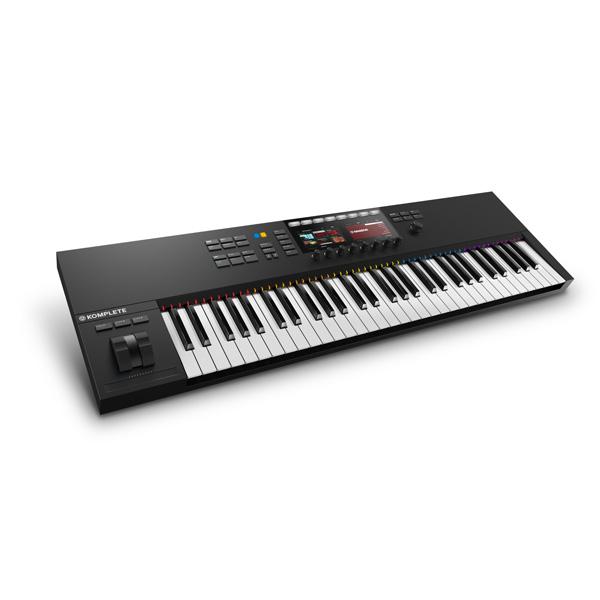 【10倍ポイント】KOMPLETE KONTROL S61 MK2 / Native Instruments(ネイティブインストゥルメンツ) - MIDIキーボード61鍵 -