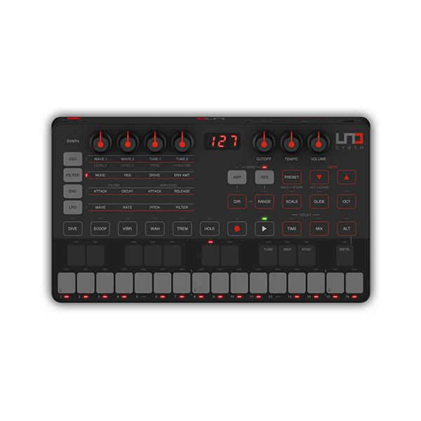 IK Multimedia(アイケーマルチメディア) / UNO Synth 超コンパクトなアナログシンセサイザー