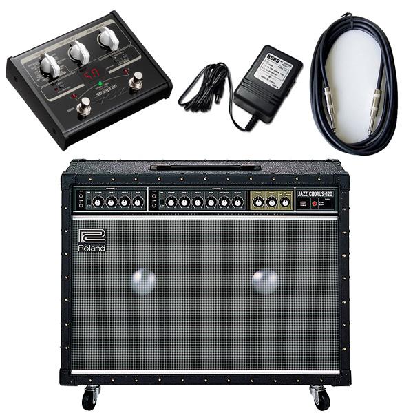 3大特典付 【VOX SL1Gマルチエフェクターセット】 Roland(ローランド) / JAZZ CHORUS JC-120 / StompLab SL1G「純正ACアダプター(KA-181)付」 - 120W ギター アンプ -