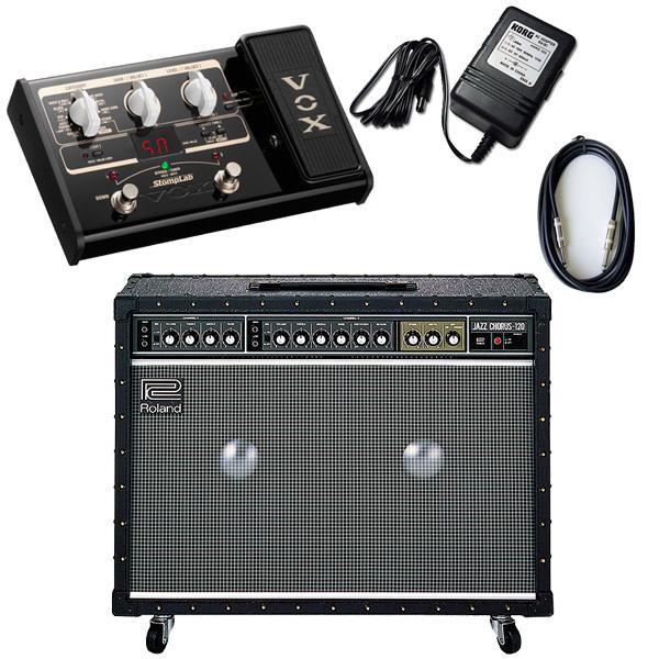 3大特典付 【VOX SL2Gマルチエフェクターセット】 Roland(ローランド) / JAZZ CHORUS JC-120 / StompLab SL2G「純正ACアダプター(KA-181)付」 - 120W ギター アンプ -