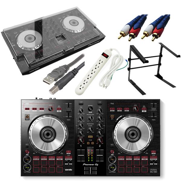 【13大特典付】 Pioneer / DDJ-SB3 【Serato DJ Lite無償】 デッキセーバー激安初心者オススメCセット