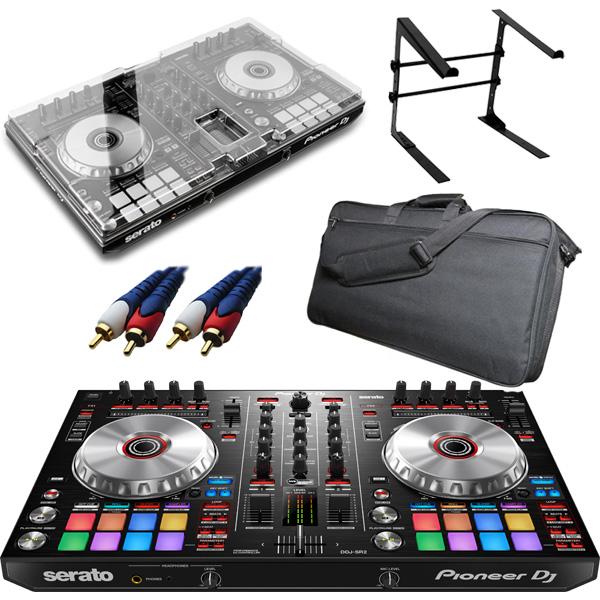 【8大特典付】 Pioneer / DDJ-SR2 【Serato DJ Pro無償】 デッキセーバー&撥水ケース激安初心者オススメセット