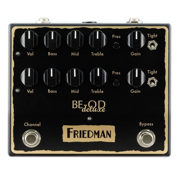 Friedman(フリードマン) / BE-OD DELUXE - オーバードライブ - 《ギターエフェクター》 【11月27日発売予定】