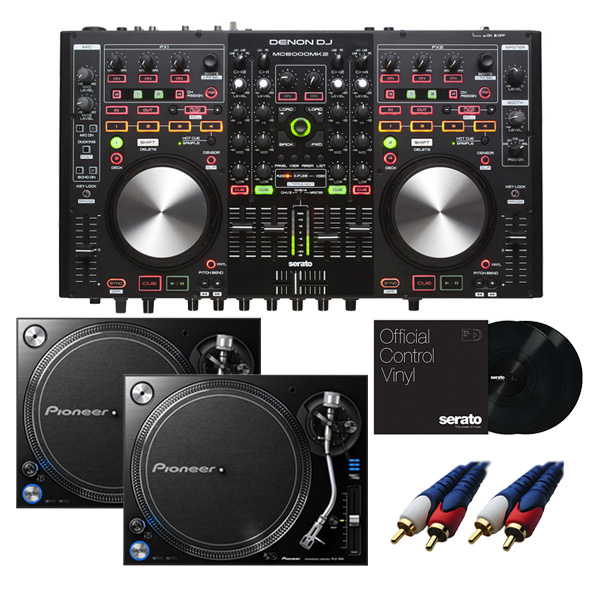 【8大特典付】 Denon / MC6000mk2 【Serato DJ Pro無償】 PLX-1000 DVSセット