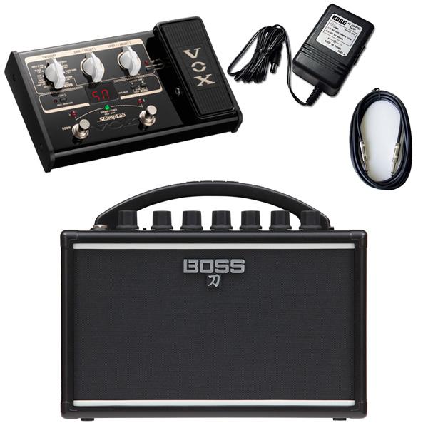 3大特典付 【VOX SL2Gマルチエフェクターセット】 Boss(ボス) / KATANA-MINI 【KTN-MINI】 / StompLab SL2G「純正ACアダプター(KA-181)付」 - バッテリー駆動 ポータブル・ギターアンプ -