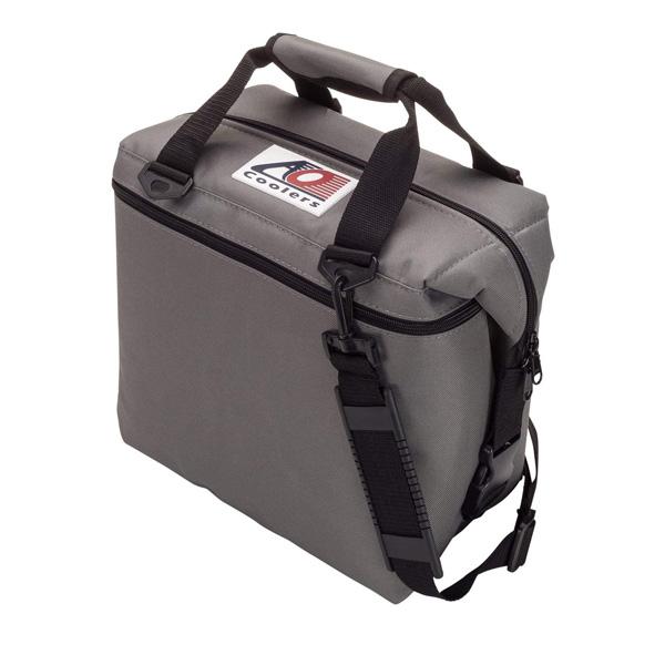 AO Coolers / Canvas Soft Cooler (チャコール / 12パック) キャンバス ソフトクーラー - クーラーボックス - 【直輸入品】