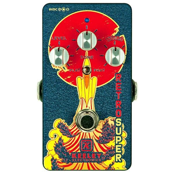 1大特典付 KEELEY(キーリー) / Retro Super Phat Mod Germanium - オーバードライブ - 《ギターエフェクター》 【期間限定生産品 なくなり次第終了】