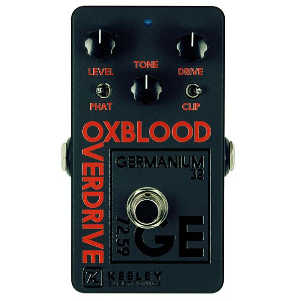 1大特典付 KEELEY(キーリー) / Oxblood Black/Orange 2018 Custom Shop - オーバードライブ - 《ギターエフェクター》 【期間限定生産品 なくなり次第終了】