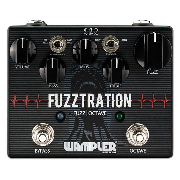 1大特典付 Wampler Pedals(ワンプラーペダル) / Fuzztration - ファズ - 《ギターエフェクター》 【ACアダプタープレゼント】