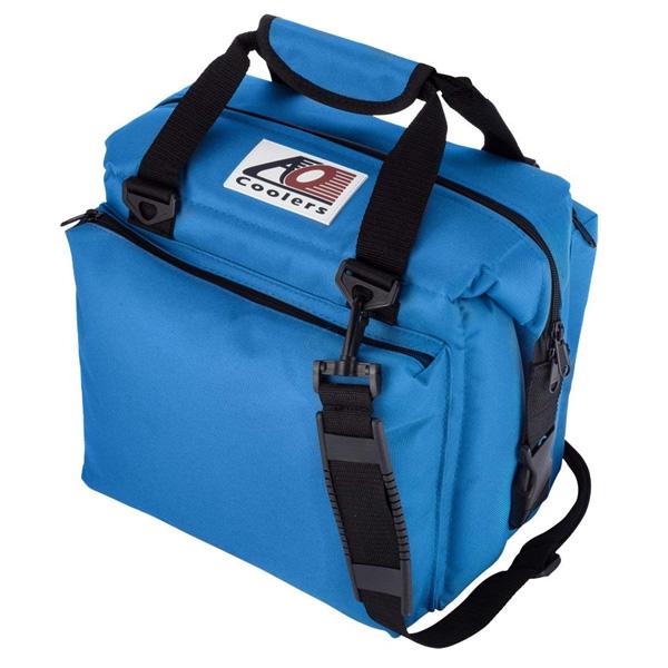 AO Coolers / Canvas Soft Cooler (ロイヤルブルー / 12パック / デラックスタイプ) キャンバス ソフトクーラー - クーラーボックス - 【直輸入品】