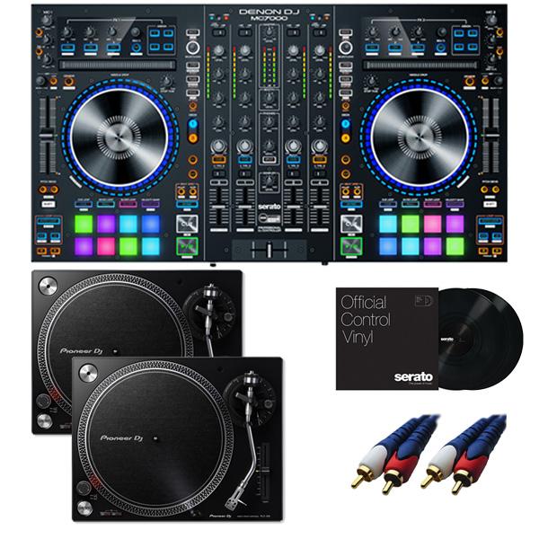 8大特典付 Denon/MC7000 【Serato DJ Pro+Serato Expansion Pack無償】 PLX-500-K DVSセット