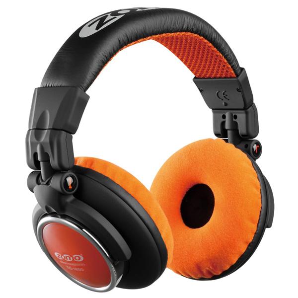 1大特典付 ZOMO / HD-1200 (Orange) ゾモ 密閉型 DJヘッドホン 【正規輸入品】