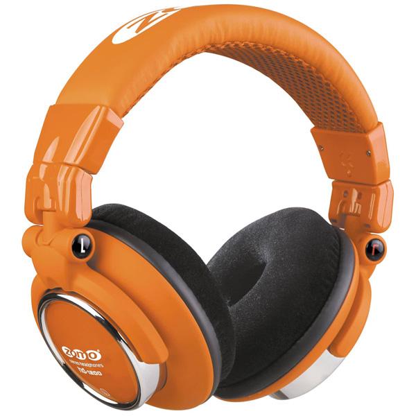 1大特典付 ZOMO / HD-1200 (Toxic Orange) ゾモ 密閉型 DJヘッドホン 【正規輸入品】