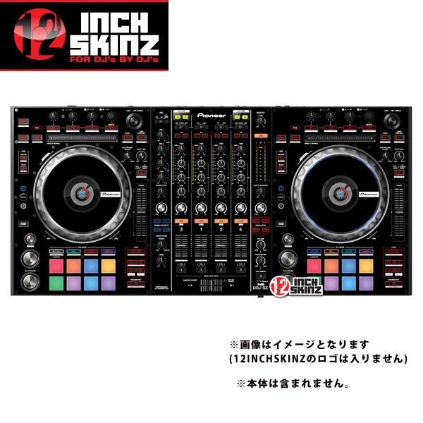 12inch SKINZ / Pioneer DDJ-SZ SKINZ (BLACK) 【DDJ-SZ用スキン】