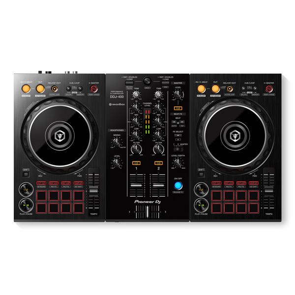 保証 rekordbox djを自在に操作できる専用2チャンネルDJコントローラー 2大特典付 Pioneer DJ DDJ-400 無償 納期:8月17日以降 PCDJコントローラー 日本全国 送料無料 REKORDBOX パイオニア