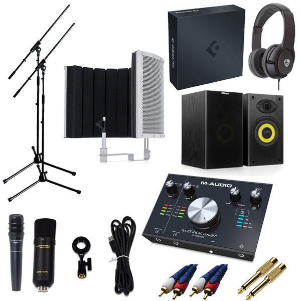 【 2x2M Cubase Live Pro 10/ (アカデミック版) 高品質弾き語り録音スピーカーセットA】 Marantz(マランツ) MPM-1000U/ M-TRACK 2x2M/ PRO63/ Sound Shield Live セット, ワジキチョウ:bd29f8e2 --- officewill.xsrv.jp