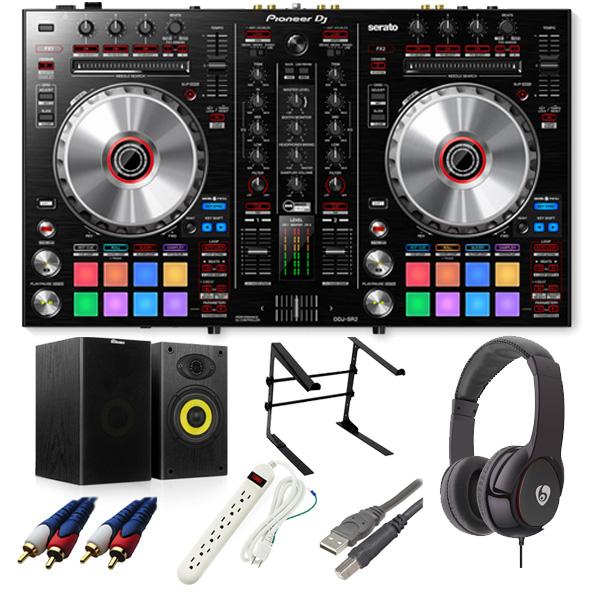 【16大特典付】 Pioneer / DDJ-SR2 【Serato DJ Pro無償】 激安定番オススメAセット