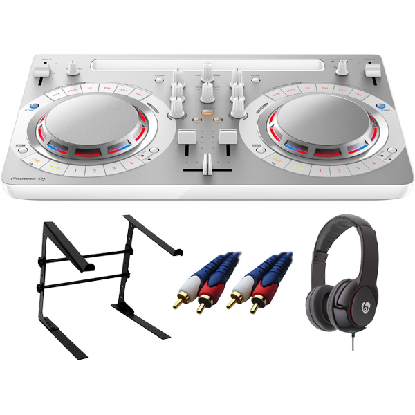 【13大特典付】 Pioneer / DDJ-WeGO4-W (ホワイト) 【rekordbox dj / Virtual DJ LE無償 】 激安定番Cセット