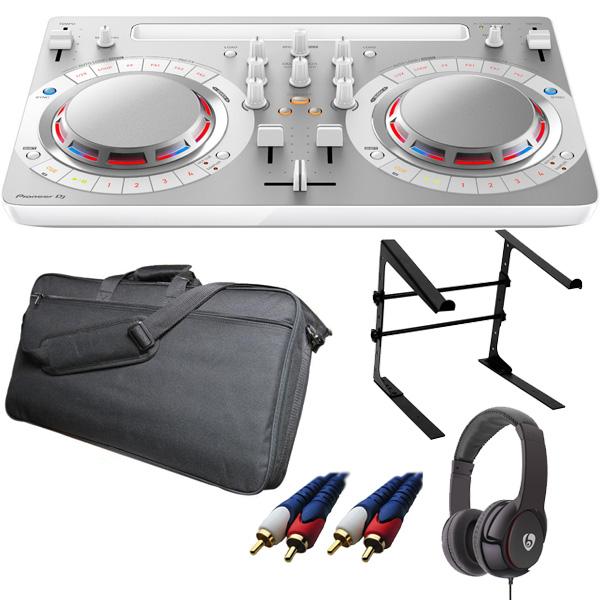 【14大特典付】 Pioneer(パイオニア) / DDJ-WeGO4-W (ホワイト) 【rekordbox dj / Virtual DJ LE無償 】 激安定番モバイルCセット