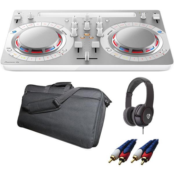 【13大特典付】 Pioneer / DDJ-WeGO4-W 【rekordbox dj / Virtual DJ LE無償】 ソフトケースお得セット