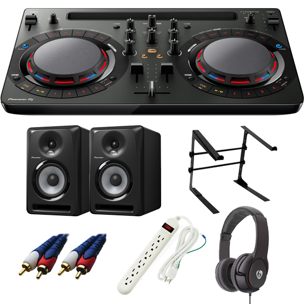 【14大特典付】 Pioneer / DDJ-WeGO4-K 【rekordbox dj / Virtual DJ LE無償】 S-DJ50X 激安定番Cセット