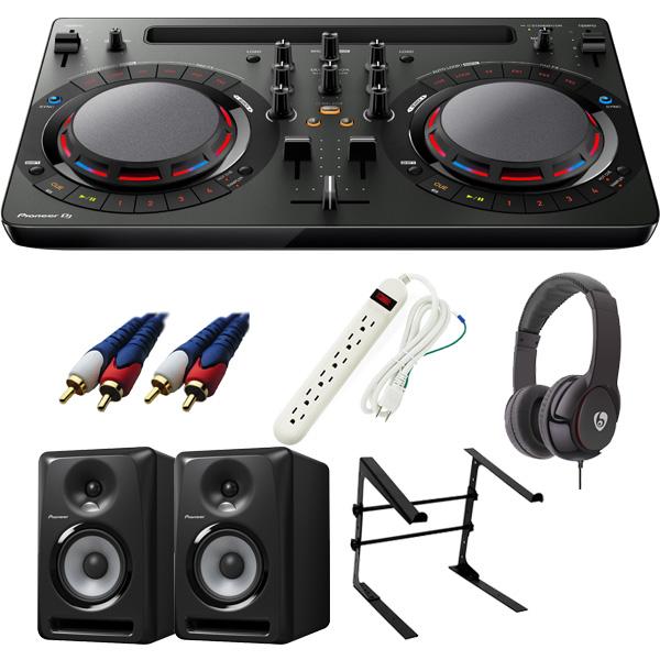 【14大特典付】 Pioneer / DDJ-WeGO4-K 【rekordbox dj / Virtual DJ LE無償】 S-DJ60X 激安定番Cセット