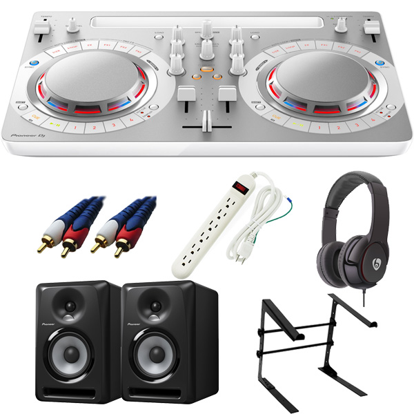 【14大特典付】 Pioneer / DDJ-WeGO4-W 【rekordbox dj / Virtual DJ LE無償】 S-DJ50X 激安定番Cセット