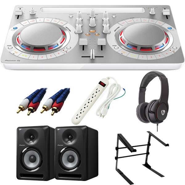 【14大特典付】 Pioneer / DDJ-WeGO4-W 【rekordbox dj / Virtual DJ LE無償】 S-DJ60X 激安定番Cセット