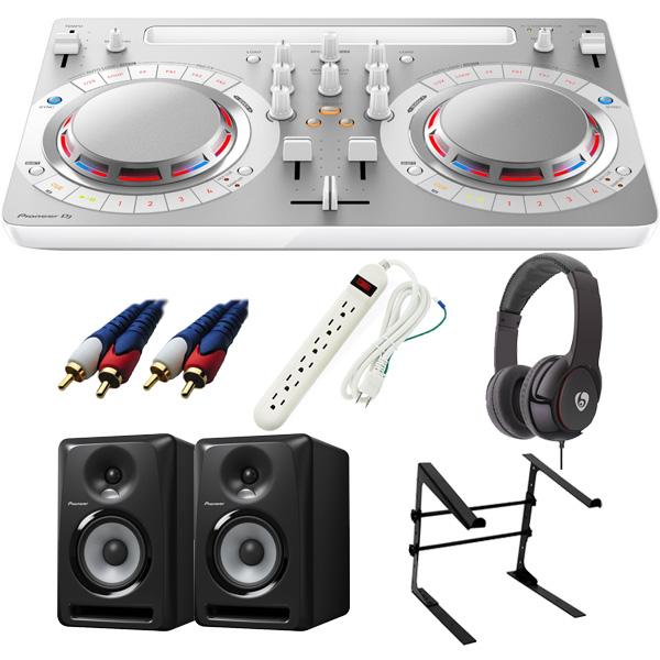 【14大特典付】 Pioneer / DDJ-WeGO4-W 【rekordbox dj / Virtual DJ LE無償】 S-DJ80X 激安定番Cセット
