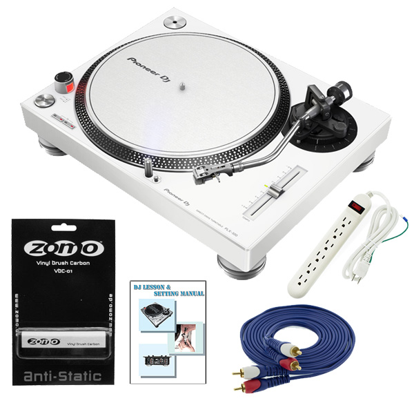 【レコードクリーナープレゼントキャンペーン】 Pioneer(パイオニア) / PLX-500-W / Zomoレコードクリーナーセット