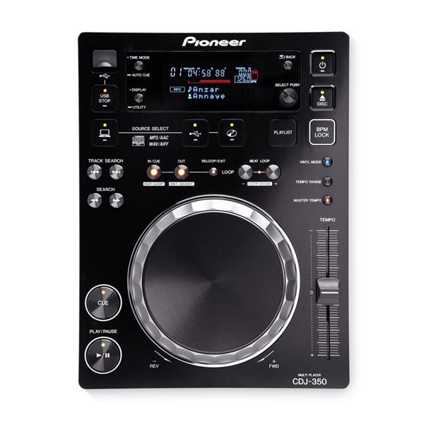 スクラッチ USB rekordbox対応 テンポ同期機能 次回生産未定 輸入 1大特典付 Pioneer 代引き不可 DJ パイオニア CDJプレーヤー USB搭載 CDJ-350