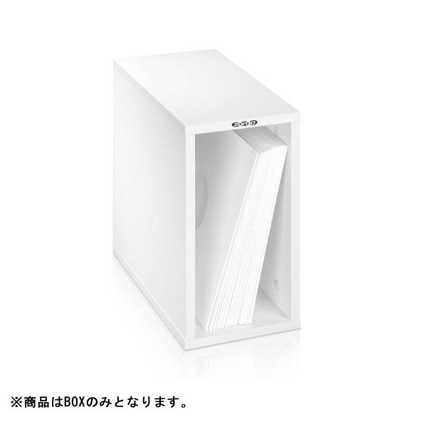 【緊急告知 12/19~26限定エントリ―P7倍】Zomo(ゾモ) / VS-Box 50 White (組立式) 12インチレコード収納BOX 【約50枚収納可能】