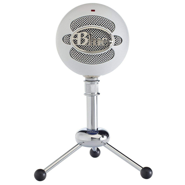 Blue Microphones / Snowball (Textured White) USBコンデンサーマイク ブルーマイクロフォン 直輸入品
