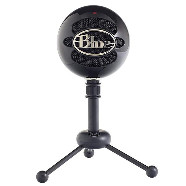 Blue Microphones / Snowball (Gloss Black) USBコンデンサーマイク ブルーマイクロフォン 直輸入品