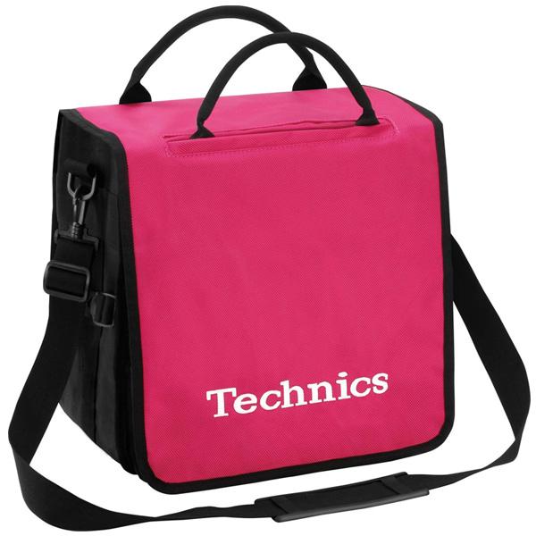 【緊急告知 12/19~26限定エントリ―P7倍】Technics(テクニクス) / BackBag (Pink/White) 【レコード約60枚収納可】 - レコードバッグ -