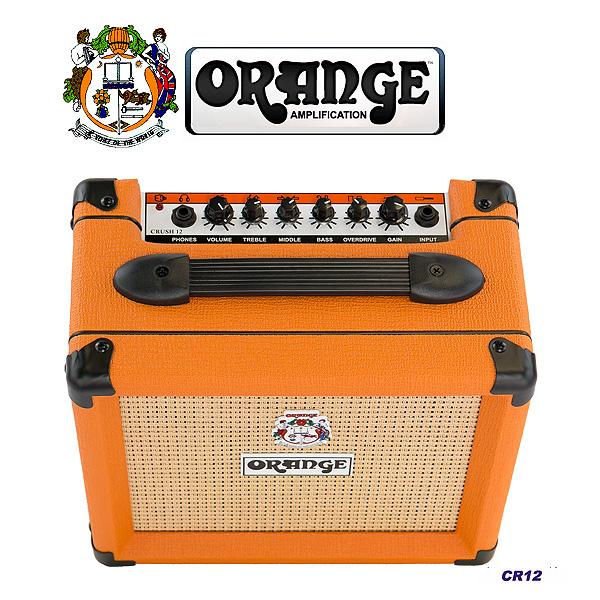1大特典付 ORANGE(オレンジ) / Crush シリーズ 2015 Crush 12 CR-12 - ギターアンプ -