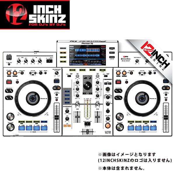 12inch SKINZ / Pioneer XDJ-RX SKINZ (WHITE/BLACK) 【XDJ-RX用スキン】
