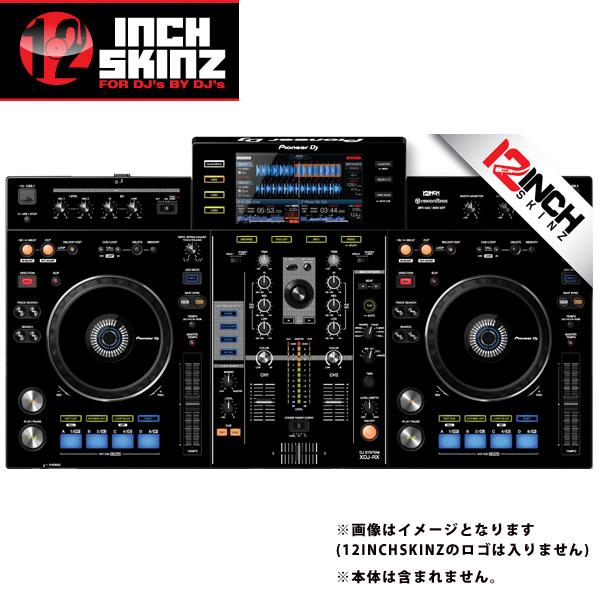 12inch SKINZ / Pioneer XDJ-RX SKINZ (BLACK) 【XDJ-RX用スキン】
