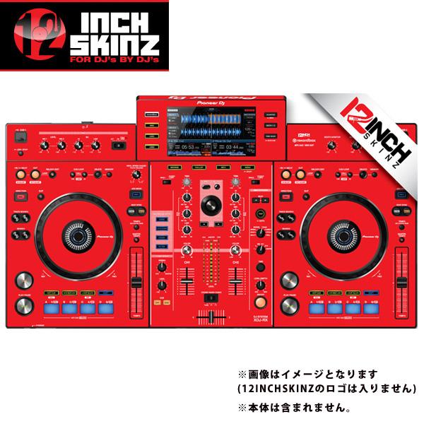 12inch SKINZ / Pioneer XDJ-RX SKINZ (RED) 【XDJ-RX用スキン】