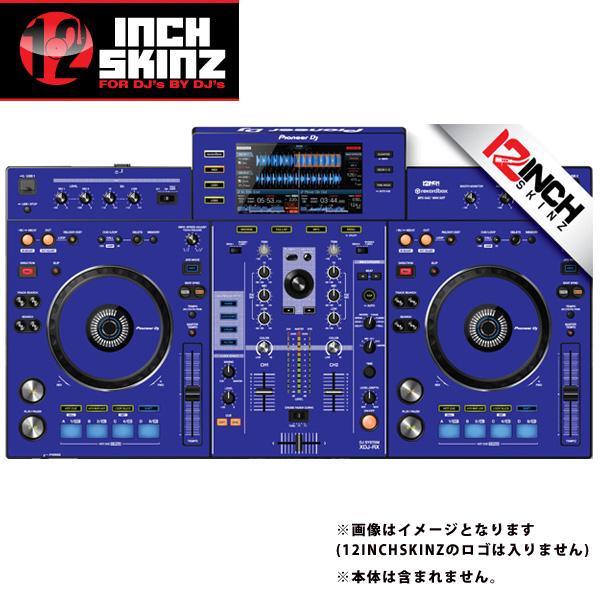 12inch SKINZ / Pioneer XDJ-RX SKINZ (BLUE) 【XDJ-RX用スキン】