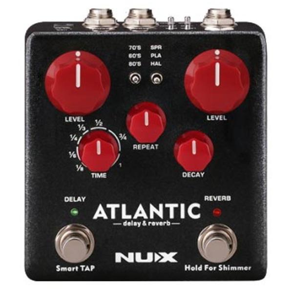 【2019春夏新色】 NUX(ニューエックス) リバーブ/ Atlantic(アトランティック) [Delay [Delay& Reverb] - ディレイ リバーブ【納期未定】 - 《ギターエフェクター》【納期未定】, スマホケースはケースbyケース:37f47059 --- canoncity.azurewebsites.net