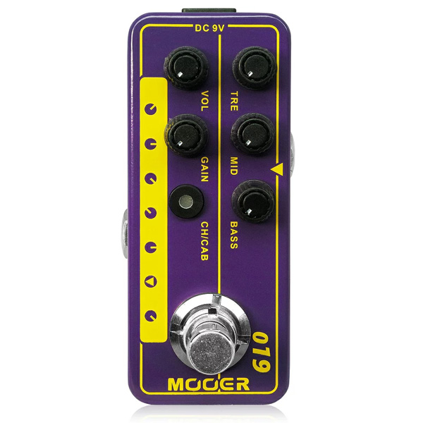 MOOER(ムーアー) / Micro Preamp 019 - アンプシミュレーター - 《ギターエフェクター》