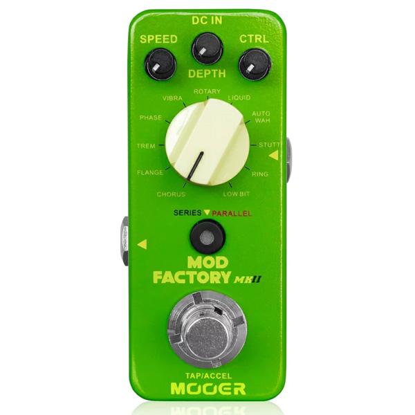 MOOER(ムーアー) / Mod Factory MKII - コーラス フランジャー フェイザー トレモロ ヴィブラート - 《ギターエフェクター》