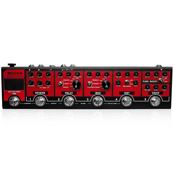 MOOER(ムーアー) / Red Truck - マルチエフェクター - 《ギターエフェクター》 【専用キャリーケース付属】